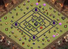 son24 TH 9 Clash of Clans Base Layout
