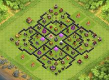 Higor TH 8 Clash of Clans Base Layout
