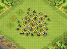 Ducfranc TH 5 Clash of Clans Base Layout