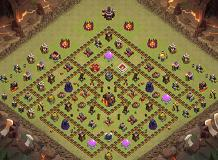 Th10 War Base Coc Th Base Th 10 Terkuat 2