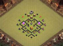 wow th 4 clash of clans base layout - Melhor Layout Cv 4