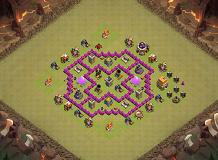 th lv 6 TH 6 Clash of Clans Base Layout
