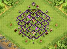 TH7 | Hybrid Base | MAX TH7 TH 7 Clash of Clans Base Layout