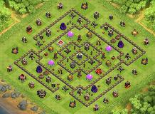 DG_Aa Anto TH 9 Clash of Clans Base Layout