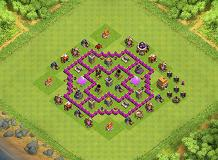 sam TH 6 Clash of Clans Base Layout