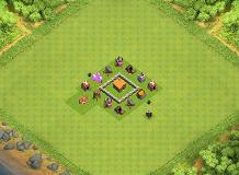 Cv2 TH 2 Clash of Clans Base Layout