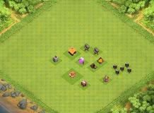 . TH 1 Clash of Clans Base Layout