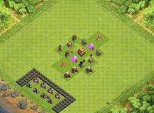 sfdrdghdeswe TH 4 Clash of Clans Base Layout