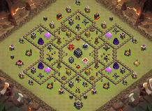 war TH 9 Clash of Clans Base Layout