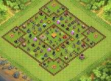 best town hall 1 base TH 1 Clash of Clans Base Layout