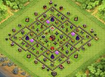 The Roc Special TH 10 Clash of Clans Base Layout