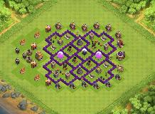 TH7 BASE PATTERN TH 7 Clash of Clans Base Layout