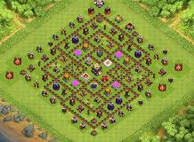 JD4198 TH 11 Clash of Clans Base Layout