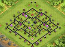 The Sean Febre TH 9 Clash of Clans Base Layout