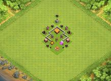 TH2 TROPHY TH 2 Clash of Clans Base Layout