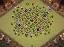 emoming TH 9 Clash of Clans Base Layout