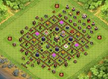 best TH 11 Clash of Clans Base Layout