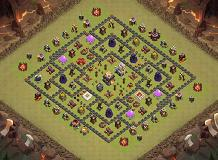 TH11 WAR TH 11 Clash of Clans Base Layout