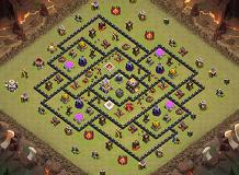 The Predator TH 11 Clash of Clans Base Layout