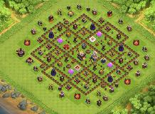 TH11 update TH 11 Clash of Clans Base Layout