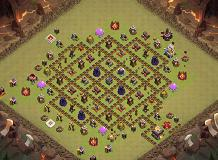 CANT TOUCH THIS TH 11 Clash of Clans Base Layout