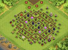 heheheheh TH 11 Clash of Clans Base Layout