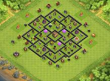 8 TH 8 Clash of Clans Base Layout