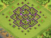 Mushir TH 8 Clash of Clans Base Layout