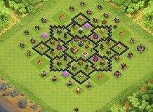 layouyt de farm para cv 8 th8 farming base by jplayouts clash of