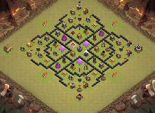 Amin TH 8 Clash of Clans Base Layout