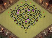 124 TH 8 Clash of Clans Base Layout