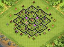 TH88 TH 8 Clash of Clans Base Layout