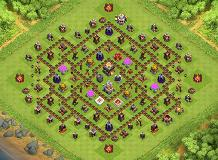 milad TH 11 Clash of Clans Base Layout