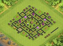 Th8 Test TH 8 Clash of Clans Base Layout