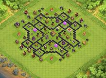 aaa TH 8 Clash of Clans Base Layout