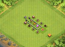 TH2 Farming TH 2 Clash of Clans Base Layout