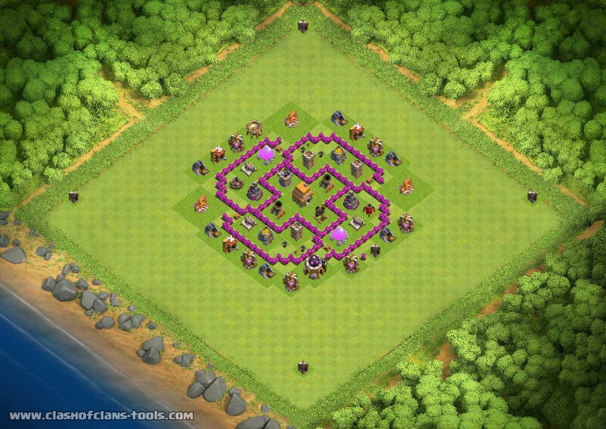 Base Coc Th 6 Kuat 2