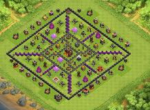 30.1.2016 TH 10 Clash of Clans Base Layout