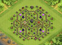Ay TH 9 Clash of Clans Base Layout