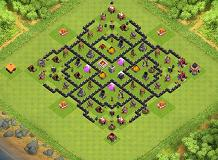 amin TH 1 Clash of Clans Base Layout