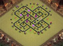 test TH 8 Clash of Clans Base Layout