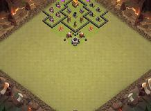 War th 4 TH 4 Clash of Clans Base Layout