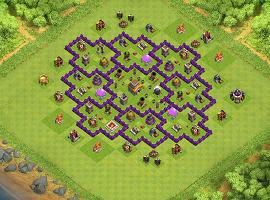 LV8_2 my version TH 8 Clash of Clans Base Layout