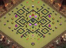 Vinoto chophy TH 9 Clash of Clans Base Layout