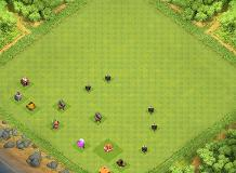 Gi7vygvuvuy TH 1 Clash of Clans Base Layout