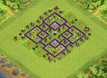 Naver give up TH 7 Clash of Clans Base Layout