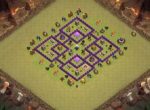 HOME LAYOUT TH 7 Clash of Clans Base Layout