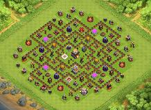 TH11 Farming Base TH 11 Clash of Clans Base Layout