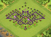 tennage TH 7 Clash of Clans Base Layout