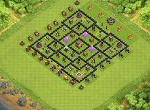 Lay. 1 TH 8 Clash of Clans Base Layout